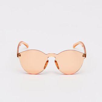 Sinsay - Okulary przeciwsłoneczne - Pomarańczowy