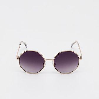 Sinsay - Okulary przeciwsłoneczne - Jasny szary
