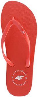 Japonki damskie KLD205 - czerwony