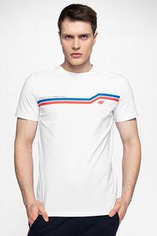 T-shirt męski TSM221 - biały