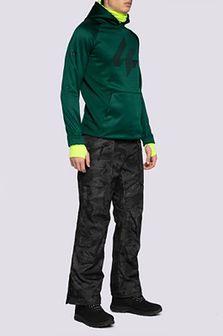 Spodnie narciarskie męskie SPMN552R - multikolor allover