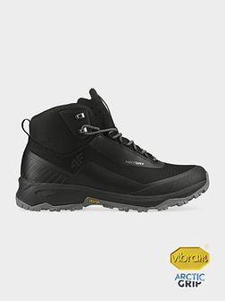 Buty trekkingowe męskie OBMH102 - głęboka czerń