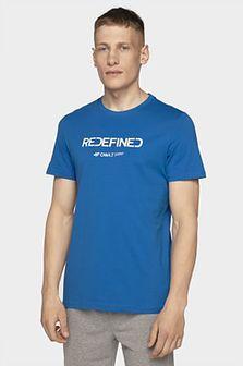 T-shirt męski TSM206 - kobalt