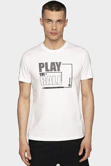 T-shirt męski TSM004 - biały