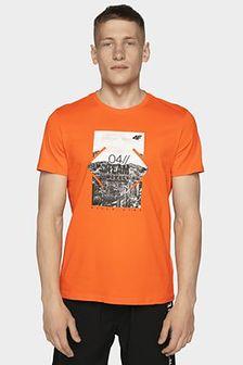 T-shirt męski TSM013 - pomarańcz