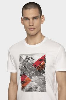 T-shirt męski TSM025A - biały