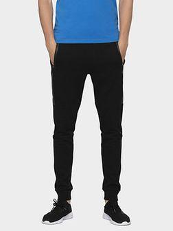 Spodnie dresowe męskie SPMD006 - głęboka czerń