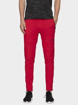 Spodnie dresowe męskie SPMD072 - czerwony
