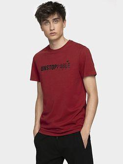 T-shirt męski TSM002 - burgund