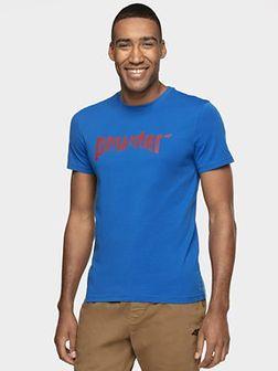 T-shirt męski TSM003 - niebieski