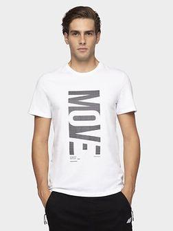 T-shirt męski TSM072 - biały