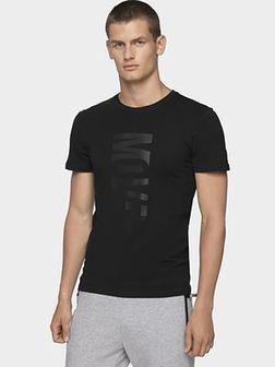 T-shirt męski TSM072 - głęboka czerń
