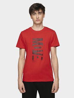 T-shirt męski TSM072 - czerwony