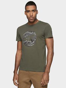 T-shirt męski TSM076 - khaki