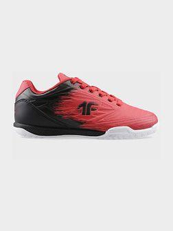 Halowe buty piłkarskie chłopięce (30-38) JOBMP400H - czerwony
