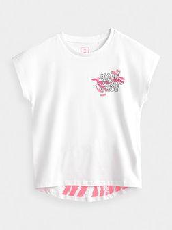 T-shirt dziewczęcy (122-164)