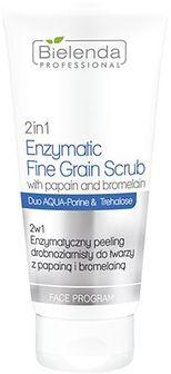 AQUA PORIN UE 2 w 1 Enzymatyczny peeling drobnoziarnisty do twarzy z papainą i bromelainą 150 g