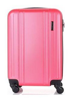Modne Walizki Kabinówki 4 kółka renomowanej marki Madisson Różowe (kolory)