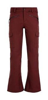 Volcom Spodnie snowboardowe Grace Stretch H1352007 Bordowy Modern Slim Fit