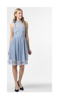 Vila - Sukienka damska – VIZinna, niebieski