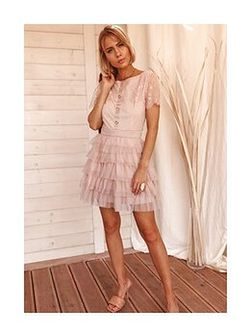 Sukienka Agneta - beż