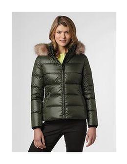 Calvin Klein - Damska kurtka puchowa, zielony