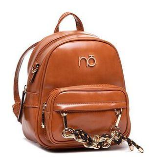 Plecak NOBO - NBAG-J4890-C017 Karmelowy