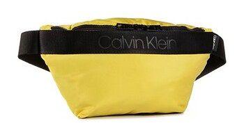 Calvin Klein Saszetka nerka Nastro Logo Waistbag K50K505672 Żółty