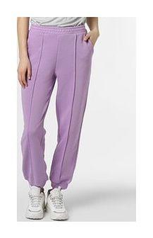 NA-KD - Damskie spodnie dresowe, lila