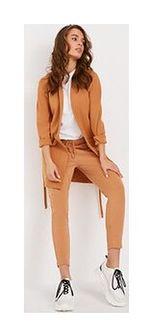 Spodnie dresowe ALVADOS Kamel XS