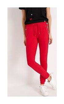 Spodnie dresowe BALLO Czerwony XS