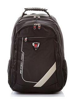 Profesjonalny plecak męski na laptopa black edition 4060