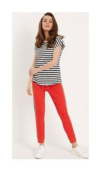 Spodnie dresowe OMAR II Czerwony XS