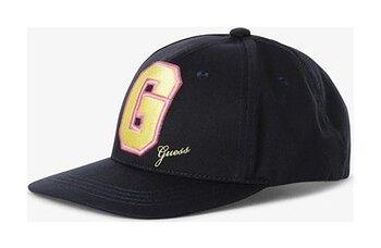 GUESS - Damska czapka z daszkiem, niebieski
