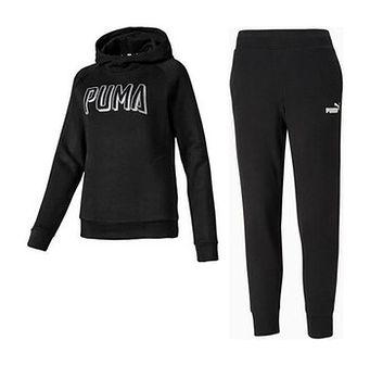 Dres damski Athletics Hoody Fleece + Essentials Track Puma