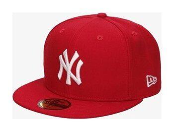 NEW ERA CZAPKA 5950 NYY RED MLB BASIC NY YANKEES