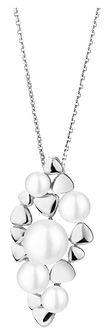 Zawieszka srebrna z perłami