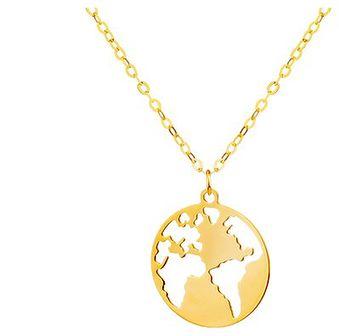 Złoty naszyjnik - Kula ziemska
