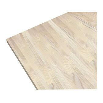 Blat drewniany 60 x 2,7 x 300 cm jesion bielony