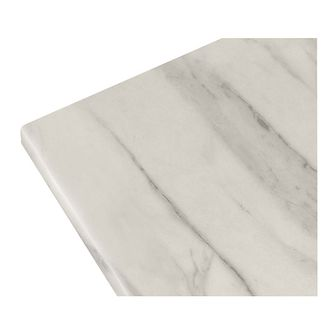 Blat laminowany GoodHome Algiata 2,2 x 300 cm biały marmur