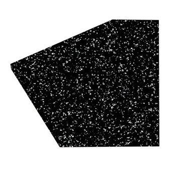 Blat laminowany GoodHome Berberis 3,8 cm black star