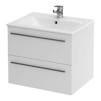 Zestaw szafka z umywalką Cersanit Elisa 50 cm biały