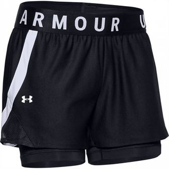Damskie szorty treningowe UNDER ARMOUR Play Up 2-in-1 Shorts
