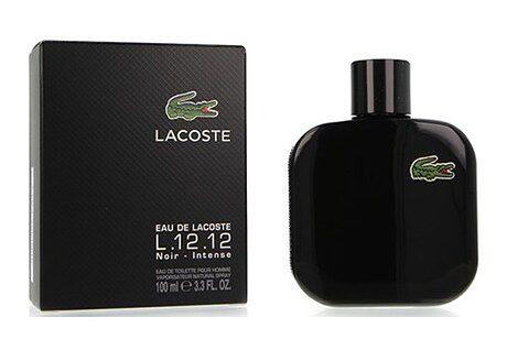 Perfumy męskie Lacoste czarny