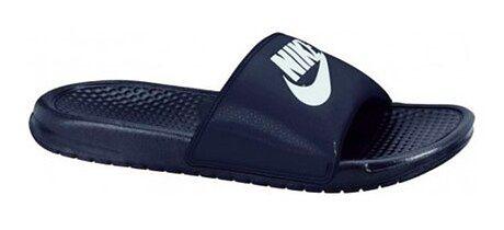 Klapki męskie Nike niebieski