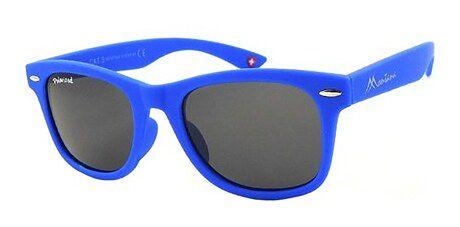 Okulary przeciwsłoneczne dziecięce Montana niebieski