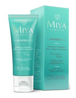 Krem do twarzy Miya Cosmetics turkusowy