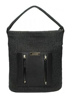 Shopper bag Nobo czarny