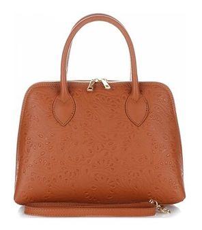 Kuferek Genuine Leather brazowy