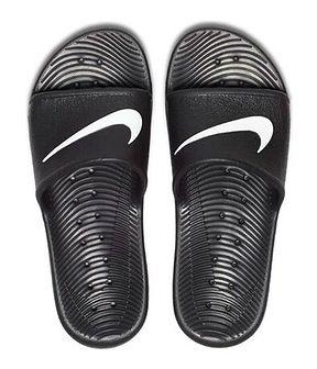 Klapki męskie Nike czarny